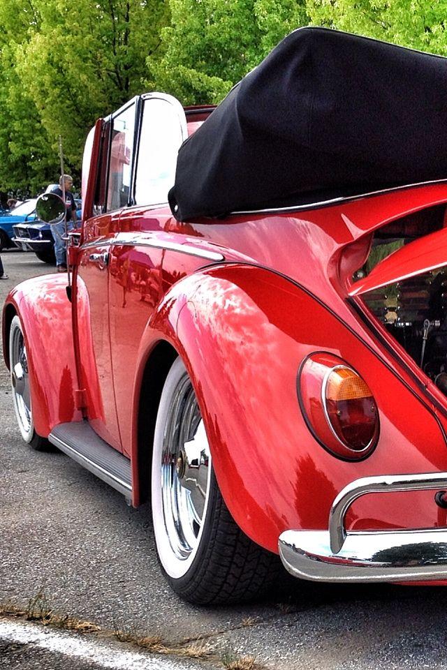 Lowered VW Bug #65 Beetle #Convertible