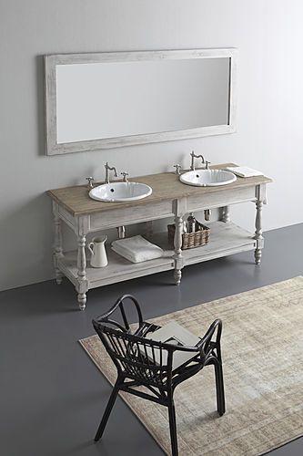 De beaux meubles en bois pour votre salle de bain!