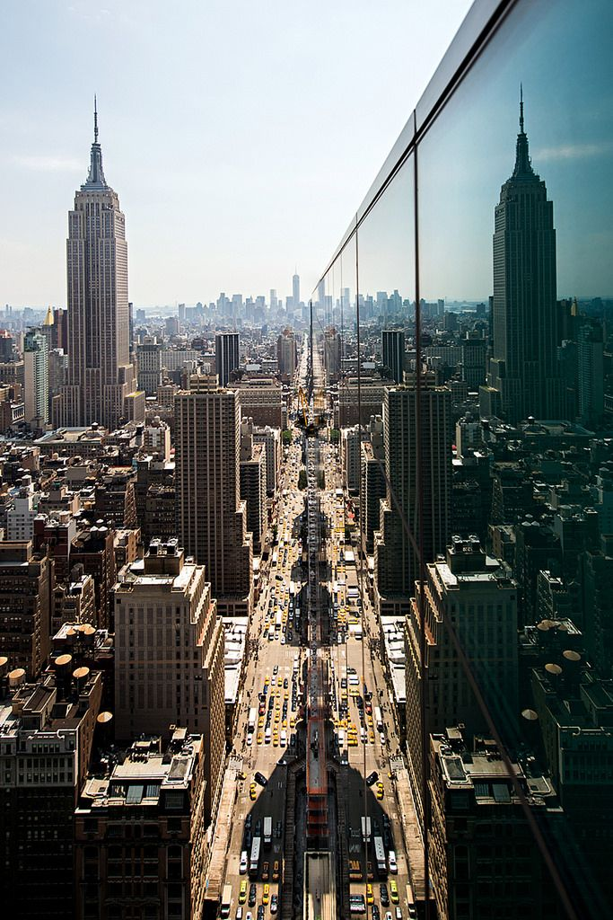 City reflections. #NYC