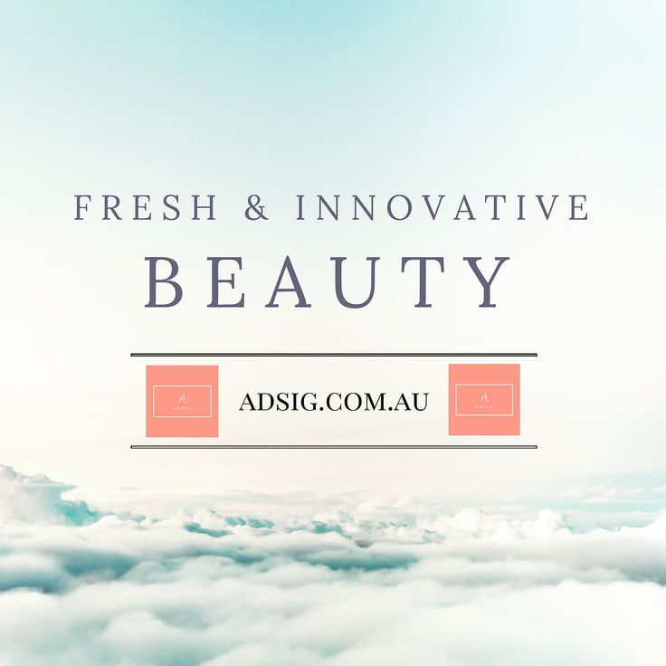 Adsig.com.au The latest online beauty store Proudly stocking Vidi Skincare and TheCream, the little pink cow brand