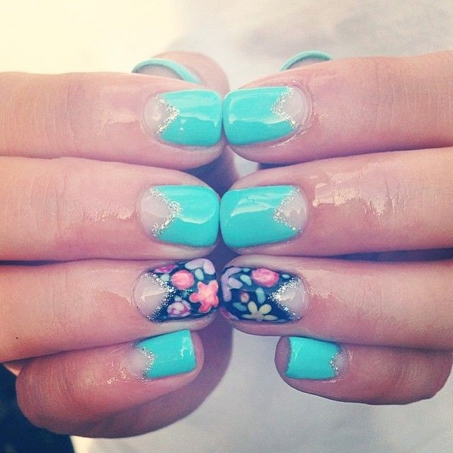 Best 25+ Light blue nail polish ideas on Pinterest | Blue ...
