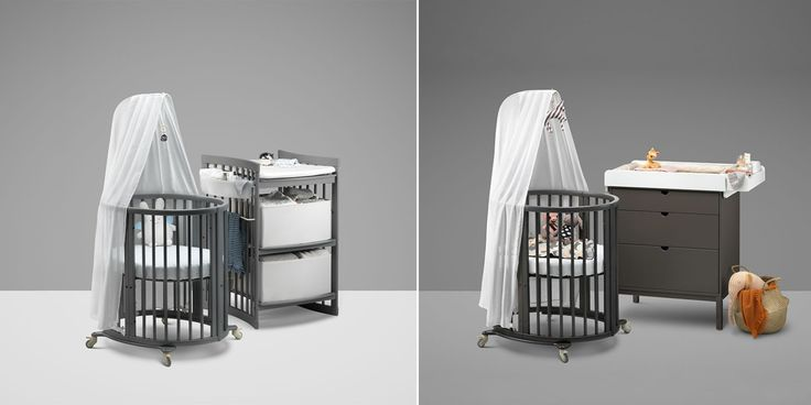 stokke sleepi convertible crib now available in hazy grey and storm grey stokke sleepi crib. Black Bedroom Furniture Sets. Home Design Ideas