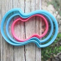 """Cookie cutter """"The plate №36"""" Set of 7, 9 and 11 cm"""