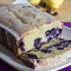 Lemon Blueberry Bread -  Sweet Pea Kitchen originally (original source)