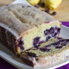 Lemon Blueberry Bread -  Sweet Pea Kitchen originally (original source)