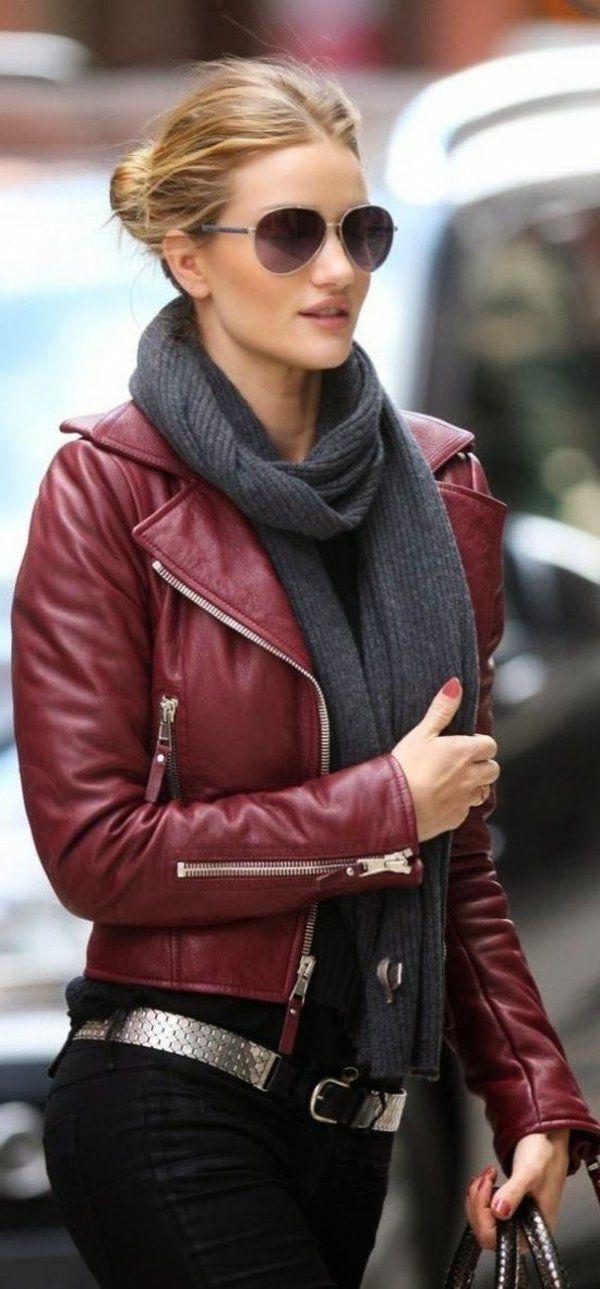 Avec quoi porter la veste en cuir