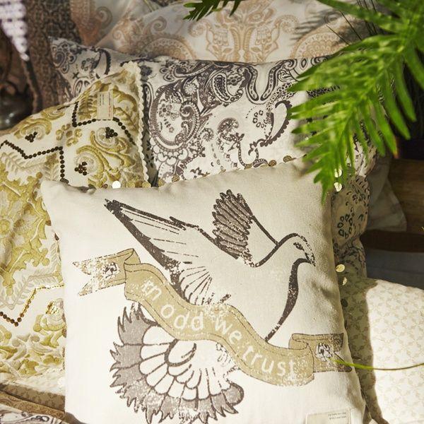Everyday sängkläder Sand - Odd Molly - Dennys Home #sängkläder #oddmolly #sovrum #sovrumsinspiration #inredning #kuddar #kuddfodral #bedding #bedset
