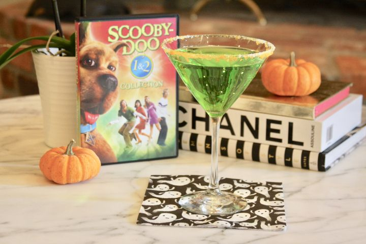 Scooby doo snacks and the mystery machine cocktail and a
