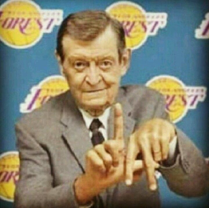 """""""This game's in the refrigerator. The door is closed, the lights are out, the eggs are cooling, the butter's getting hard, and the Jellooooo is jigglin'!"""" - Chick Hearn, Lakers Legend."""