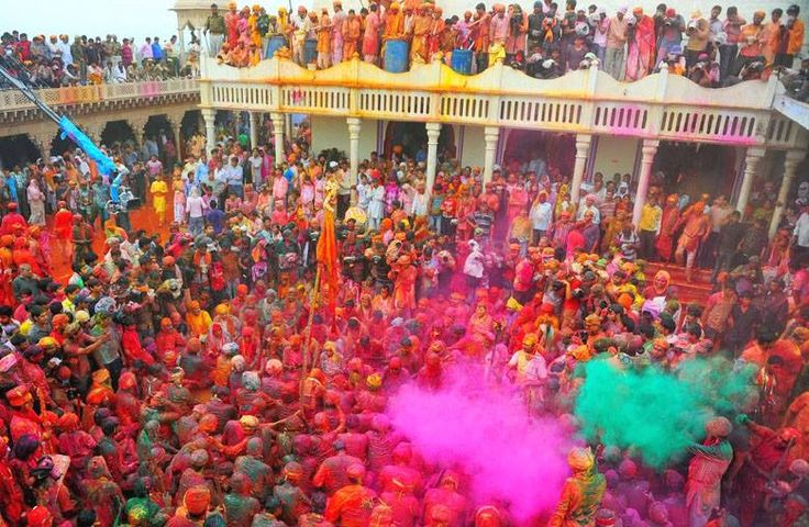 Exact destination to celebrate holi is Vrindavan as it is the Birth Place of Lord Krishna.... Book tickets online with www.nakshatratrip.com.