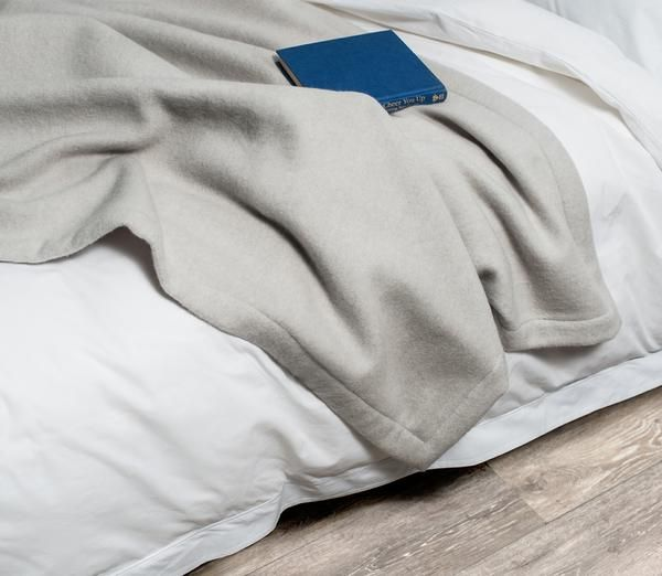 Throw Blankets: Cashmere Throw Blanket | Snowe