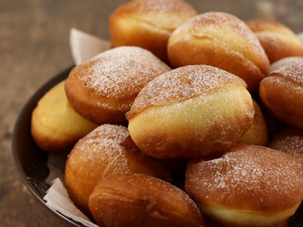 Gogosi - Gogosi pudrate cu zahar