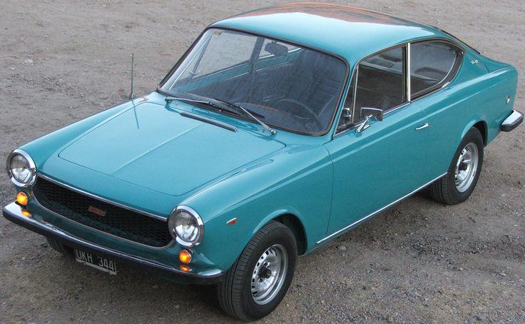 Coupé Fiat 125 Sport 1973. Ya va a quedar asi mi verde