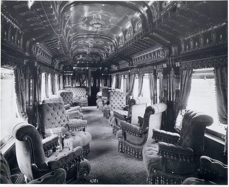 the pullman palace train car 1893