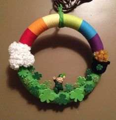 20+ St. Patrick's Day Wreaths Which You can DIY in minutes to Welcome Good Luck in your Home