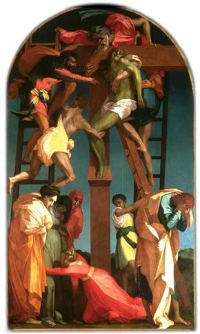 Rosso Fiorentino; The Deposition, 1521; The Art Gallery and Civic Museum; Volterra, Italy