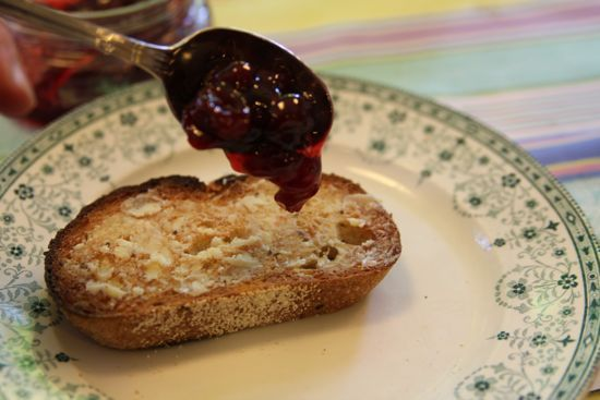 Post image for cherry preserves, straight talk about pectin and a can-it-forward giveaway