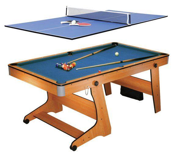 Buy BCE 6u0027 Folding Pool U0026 Table Tennis At Argos.co.uk,