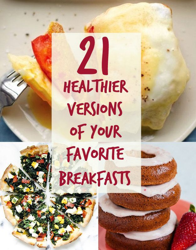 21 Healthier Breakfasts You'll Want To Wake Up With @tarynsiv This has some awesome stuff!
