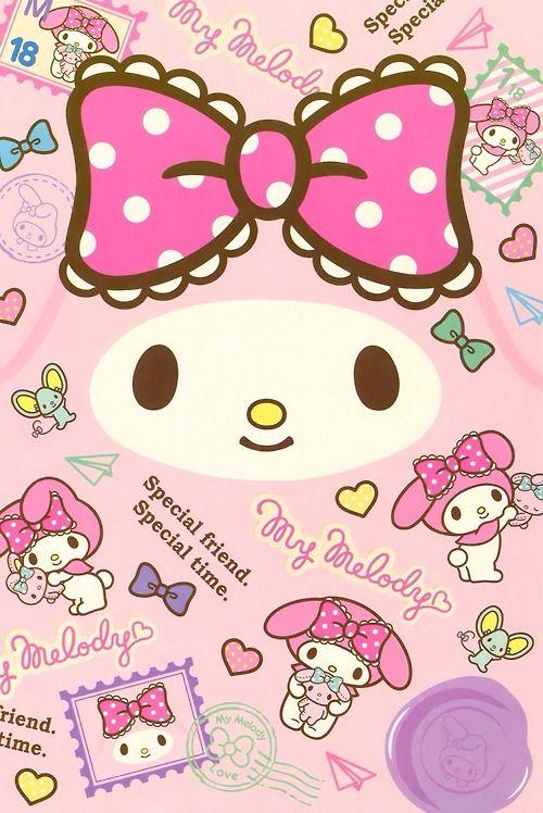 My Melody Sanrio WallpaperHello Kitty
