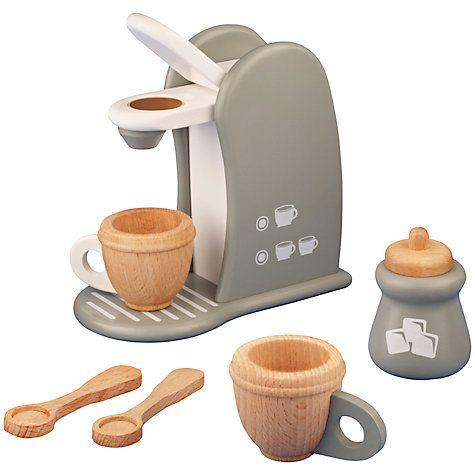 Buy John Lewis Toy Coffee Machine Online at johnlewis.com