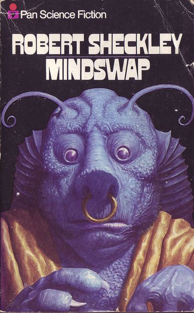 Robert Sheckley - Mindswap. Cover art: Kelly Freas?