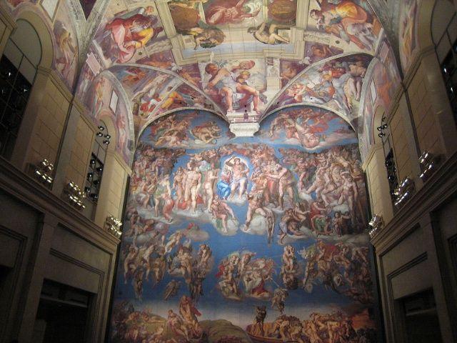 システィーナ礼拝堂天井画・壁画「最後の審判」/ミケランジェロ
