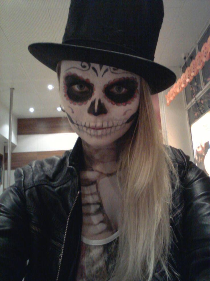 Sugar Skull Face Paint Tumblrsugarskullagainbywtfjojjo Gntdwlyq