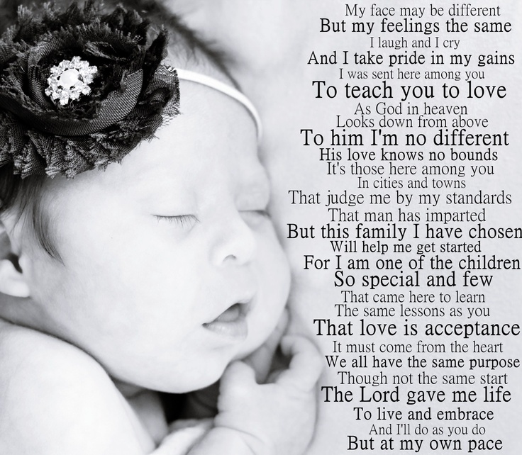 the down syndrome creed   -my beautiful & perfect daughter!