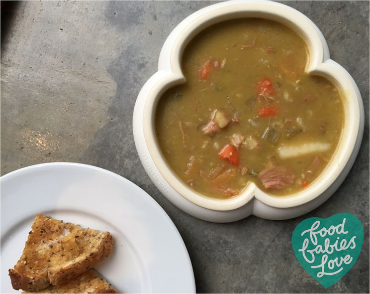 Pea and Ham Soup - Food Babies Love