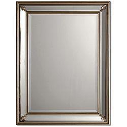 Jansen Antique Silver Framed Mirror