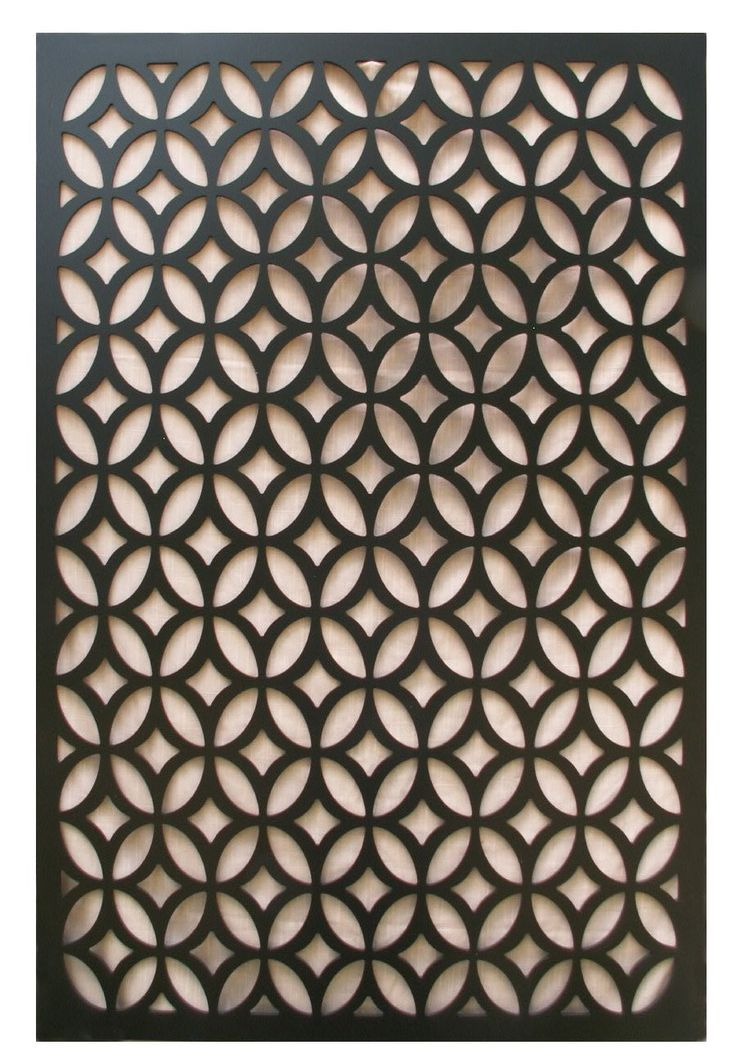 Acurio Moors Ellipse Black Vinyl Lattice 48 Quot X32 Quot To Use As
