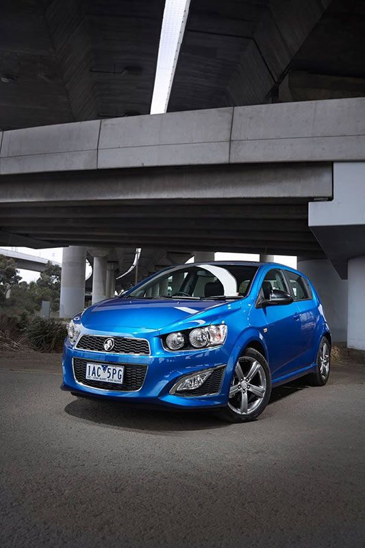 The Holden Barina RS Hatch - at last, a Barina on turbo-charged fuel-injected steroids. Click the image for more information