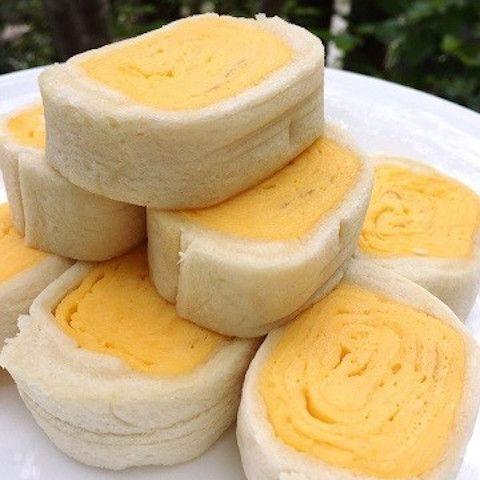 フワッフワ!「厚焼き卵ロールサンド」なら子どもも食べやすくて便利★