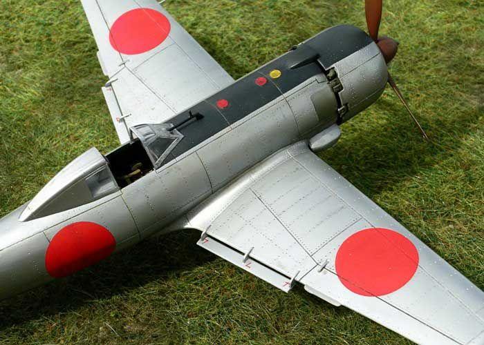 Nakajima Ki-115 Tsurugi by Ian Robertson (Eduard 1/48)