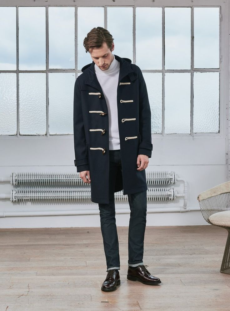 Duffle Coat Tom // Marine