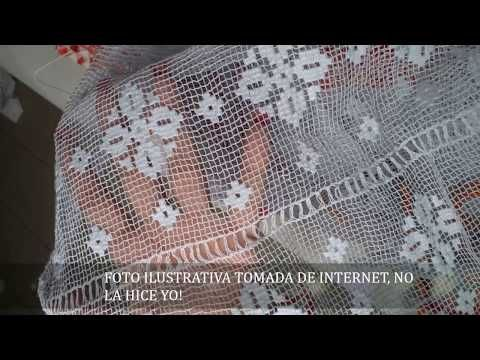 MUNDILLO DE PANAMA, MALLA DE PAJITA, INICIO - YouTube
