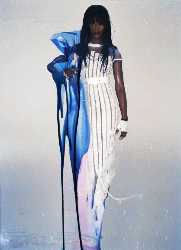 Naomi Campbell photographed by Nick Knight