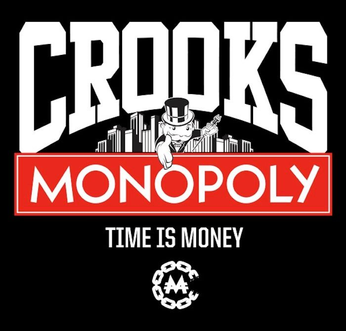 Crooks and Castles x Monopoly | Crooks and castles, North ...