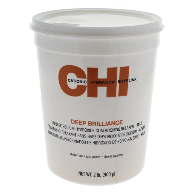 CHI 2-pound Deep Brilliance No Base Sodium Hydroxide Conditioning Relaxer Mild