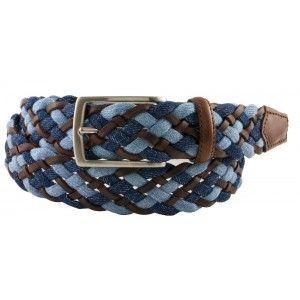 Cintura Intrecciata Pelle e Jeans - BRUCLE