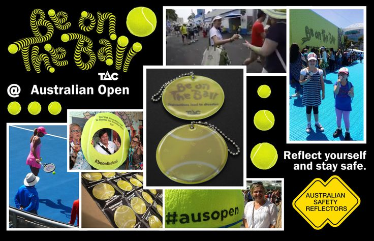ACE ! What a fantastic two weeks the Australian Open has slammed in. Great performance! Serving personal safety reflectors has won the break point, and given advantage to road users. Australian Safety Reflectors look forward to the next game, set, and match, in road safety