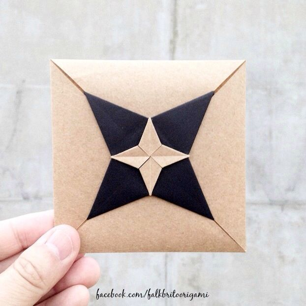 DIY Inspiration | Origami Envelope                                                                                                                                                                                 Más