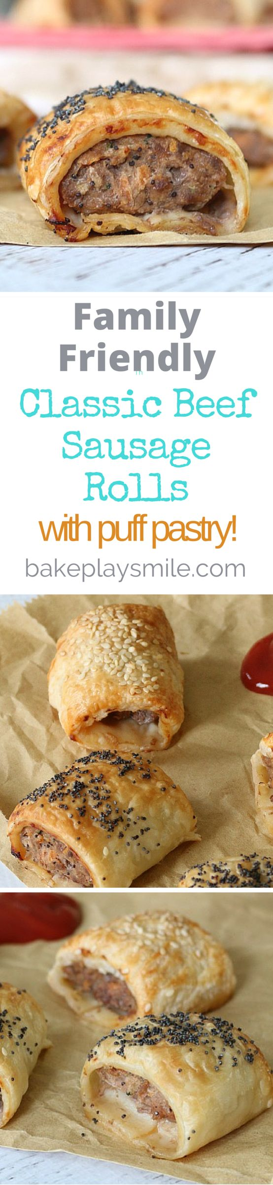 This is my go-to homemade sausage roll recipe - everyone loves them and they…