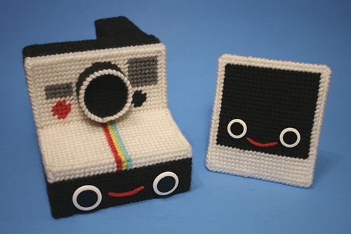 Yarn Polaroid friends-Nicole Gastonguay