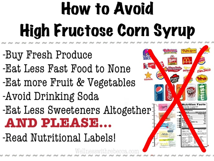 High Fructose Corn Syrup Products List 17 Best images about F...