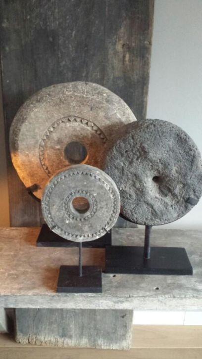 molensteen object op voet