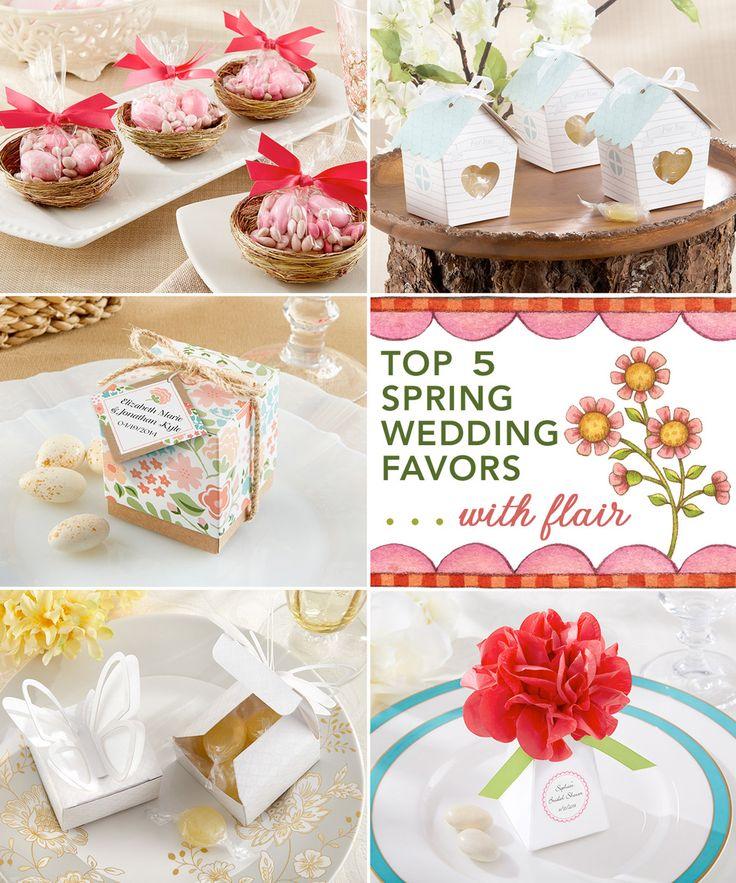 Top 5 Spring Wedding Favors . . . with flair from Kensington Classics / as seen on www.BrendasWeddingBlog.com