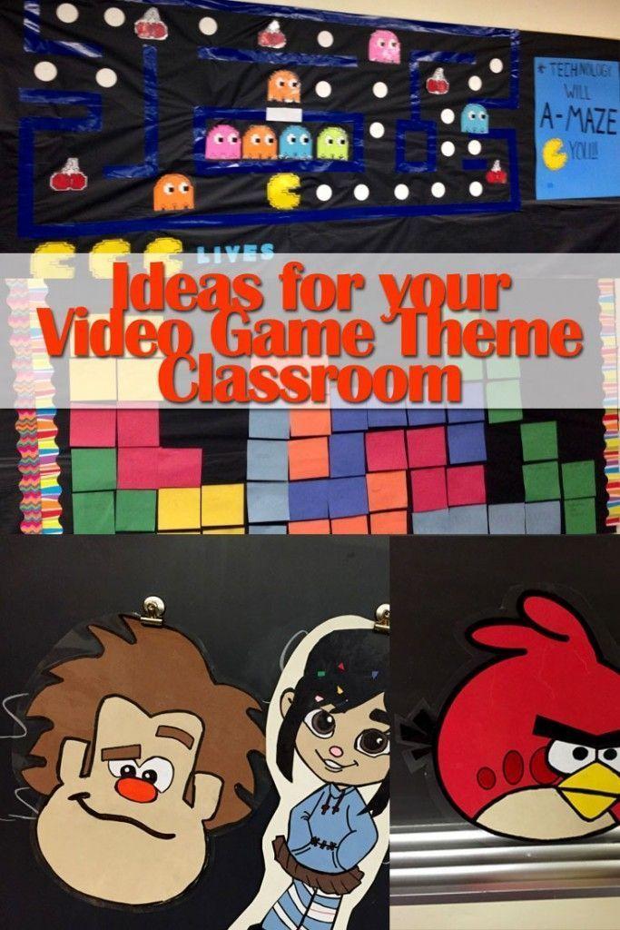Video Game Theme Classroom