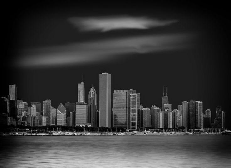 Chicago Skyline. Discover the story behind the image, visit my website www.jeanpierredagenais.com